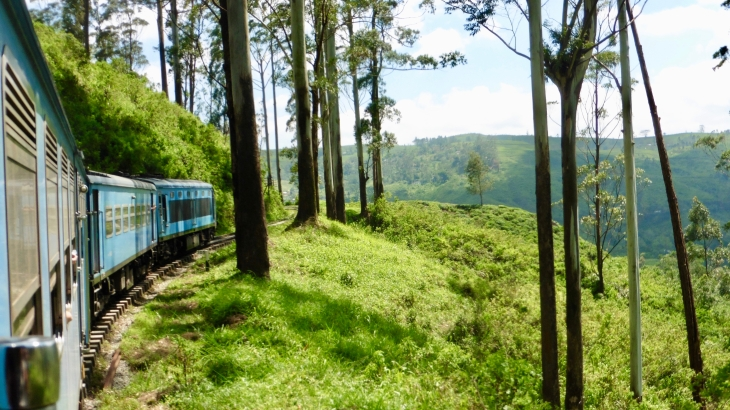 Trajet en train Kandy - Hatton