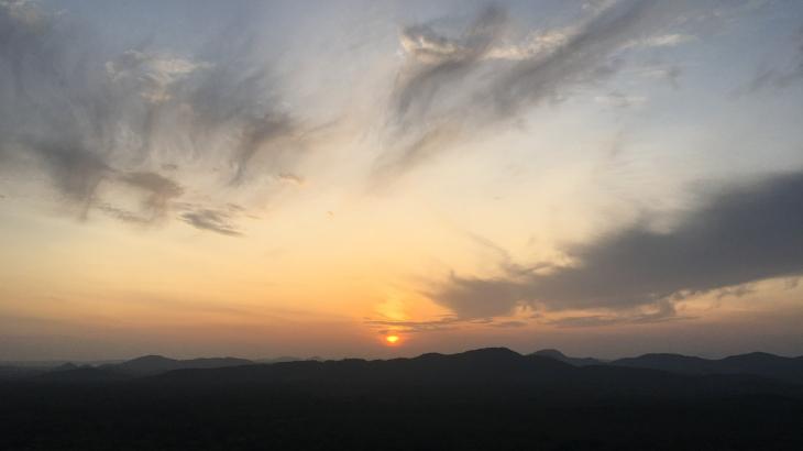 Lever du soleil - Pidurangala's Rock